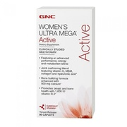 GNC Womens Ultra Mega Active - 90 Capsula